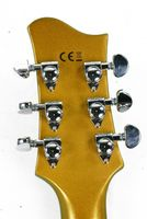 Diamonds Jazz/Rockabilly Gitarre mit Tremolo & Case Bild 5