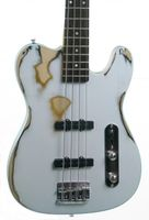 KEYTONE E-BASS  TL STYLE VINTAGE DESIGN COLOR WHITE Bild 2