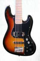 KEYTONE  MM STYLE AKTIVER 5-SAITER  E- BASS SUNBURST