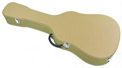 Deluxe Koffer/Case Westerngitarre im Tweed Design