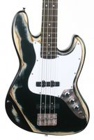 ABVERKAUF !!! KEYTONE JAZZ- E-BASS  VINTAGE DESIGN BLACK