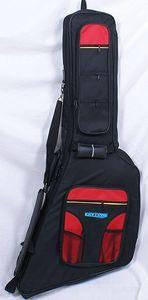 E-Gitarre Gigbag / Tasche DE LUXE PREMIUM EXPLORER, FV Form dick gepolstert