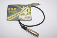 AK62S ADAPTERKABEL XLR FEMALE - CHINCH STECKER 0,6M